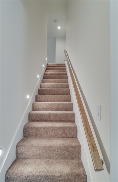 Real Estate Photography - 26180 Tuscany Dr, Millsboro, DE, 19966 - Stairway to the 2nd Floor
