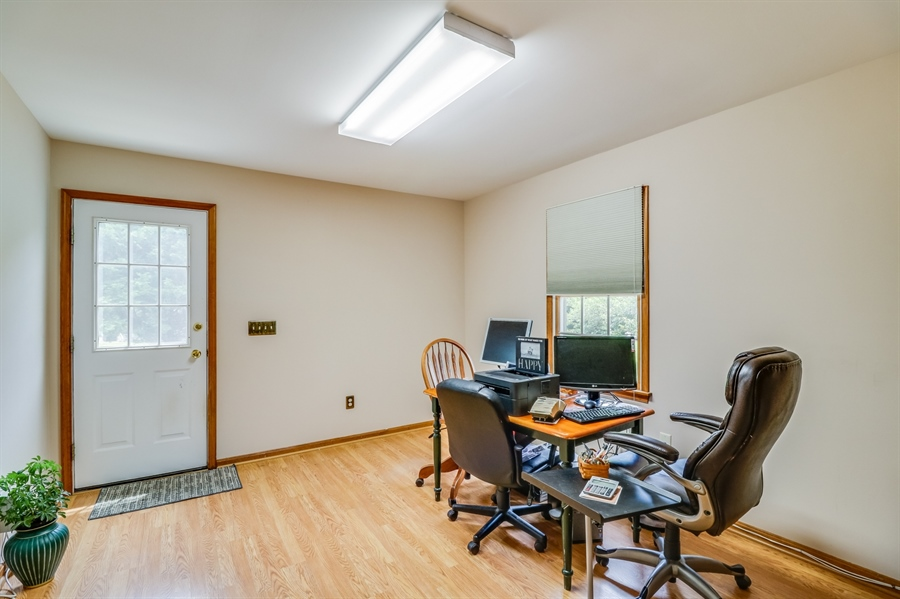 Real Estate Photography - 406 Meadow Ln, Middletown, DE, 19709 - Office/mudroom with separate entry