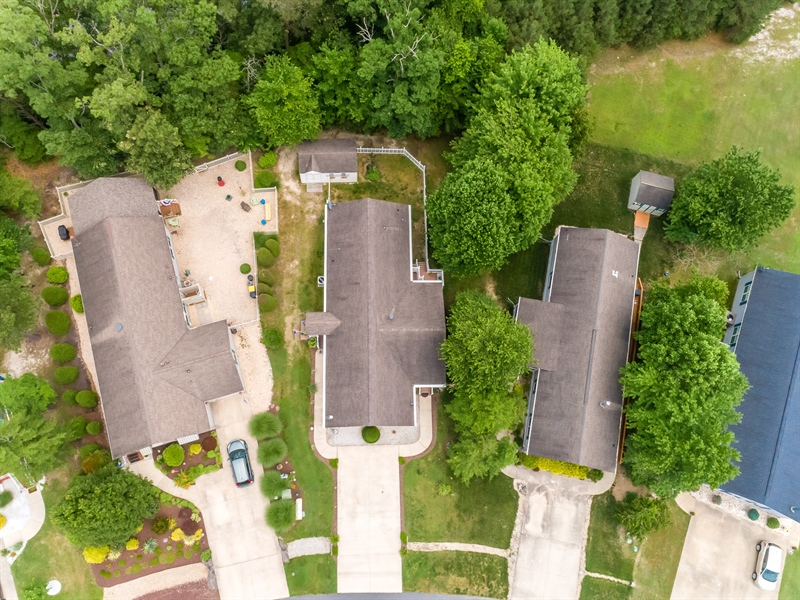 Real Estate Photography - 33034 Suburban Blvd, Lewes, DE, 19958 - Overhead View of Street