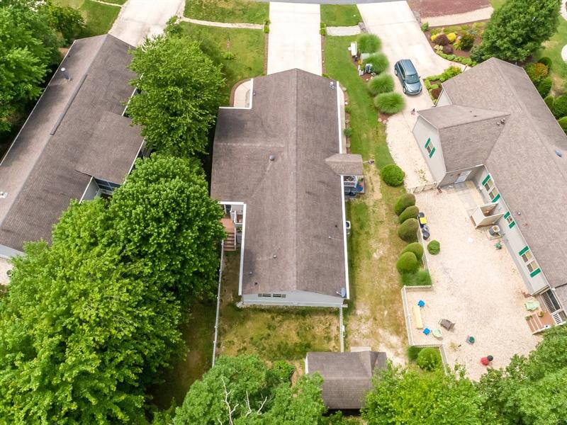 Real Estate Photography - 33034 Suburban Blvd, Lewes, DE, 19958 - Aerial Rear View
