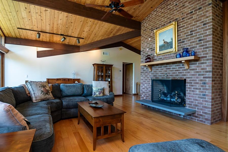 Real Estate Photography - 3319 Breidablik Dr, Greenville, DE, 19807 - Gas Fireplace