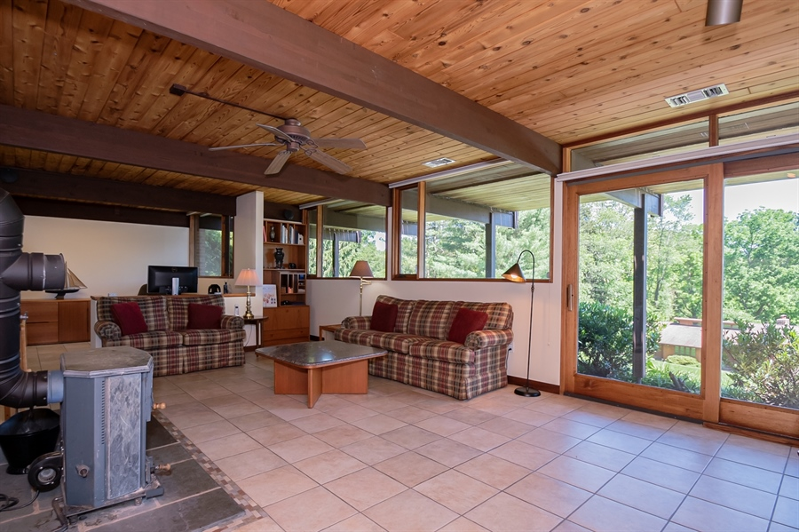 Real Estate Photography - 3319 Breidablik Dr, Greenville, DE, 19807 - Sliding Glass Doors to Patio
