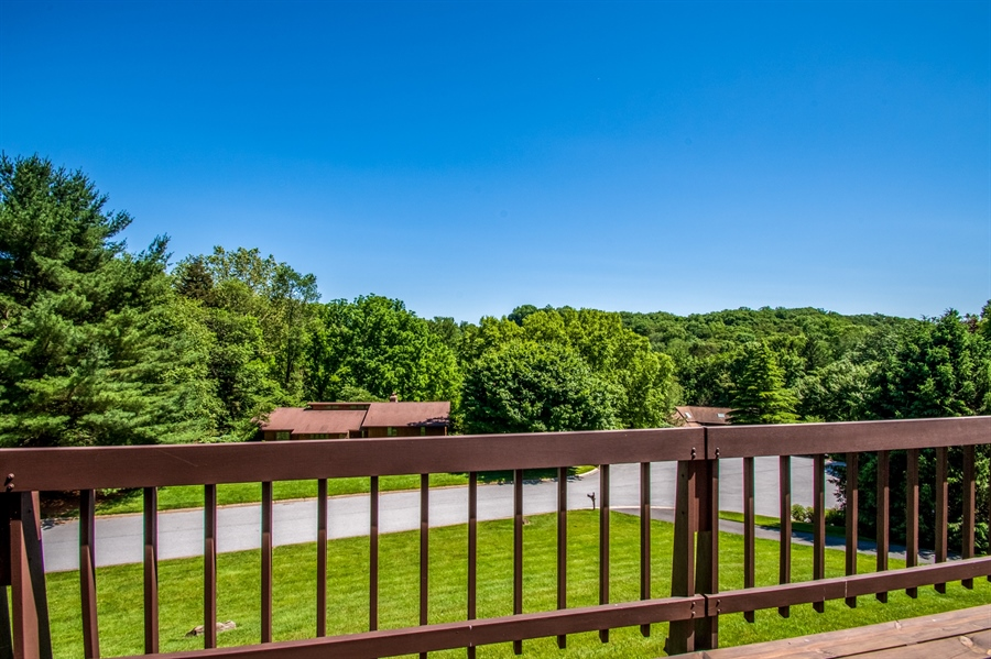 Real Estate Photography - 3319 Breidablik Dr, Greenville, DE, 19807 - View Off Upper Level Deck