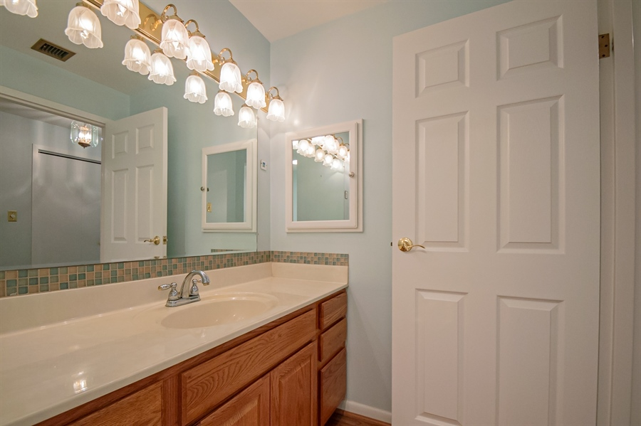 Real Estate Photography - 614 Loveville Rd, Hockessin, DE, 19707 - Master Bathroom with Large Vanity