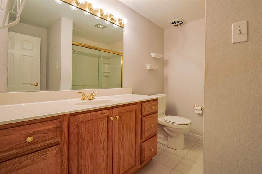 Real Estate Photography - 614 Loveville Rd, Hockessin, DE, 19707 - Hall Bath With Vanity
