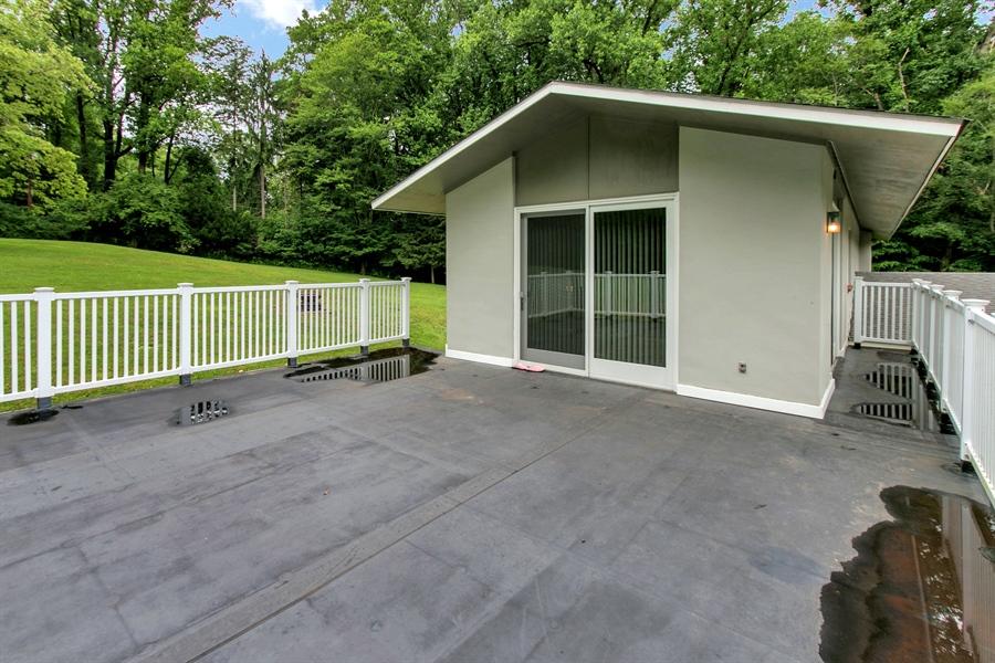 Real Estate Photography - 2 Walnut Ridge Rd, Greenville, DE, 19807 - Suitable for a 40 X 20 Deck