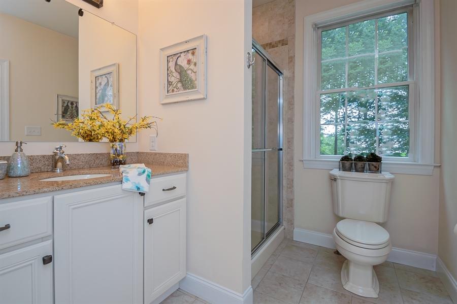 Real Estate Photography - 131 Ayrshire Dr, Landenberg, PA, 19350 - Main Floor Owner's Bathroom