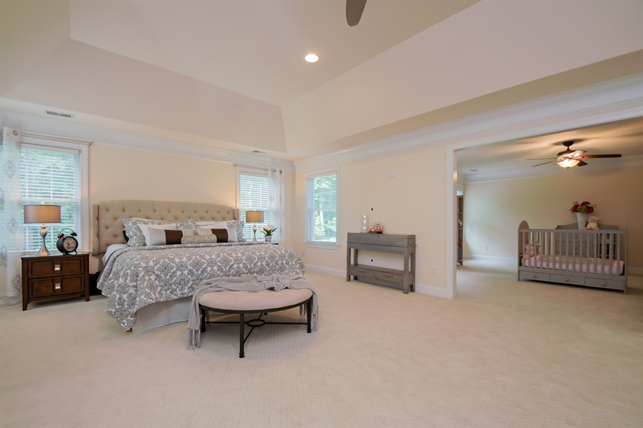 Real Estate Photography - 131 Ayrshire Dr, Landenberg, PA, 19350 - Upstairs Owner's Bedroom