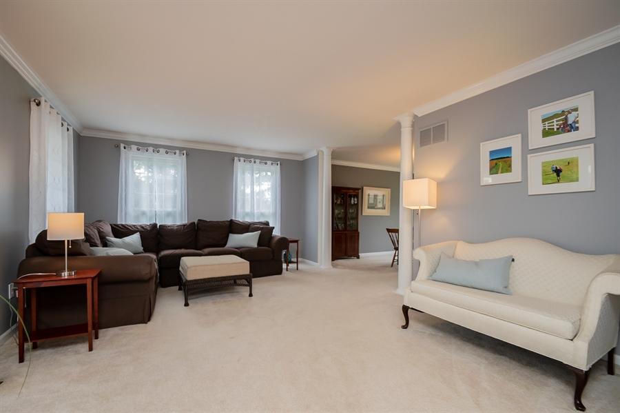 Real Estate Photography - 2 Vireo Cir, Newark, DE, 19711 - Formal Living Room w Crown Molding