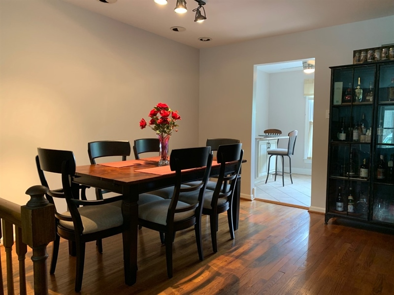 Real Estate Photography - 906 N Bancroft Pkwy, Wilmington, DE, 19805 - Nice Size Dining Room