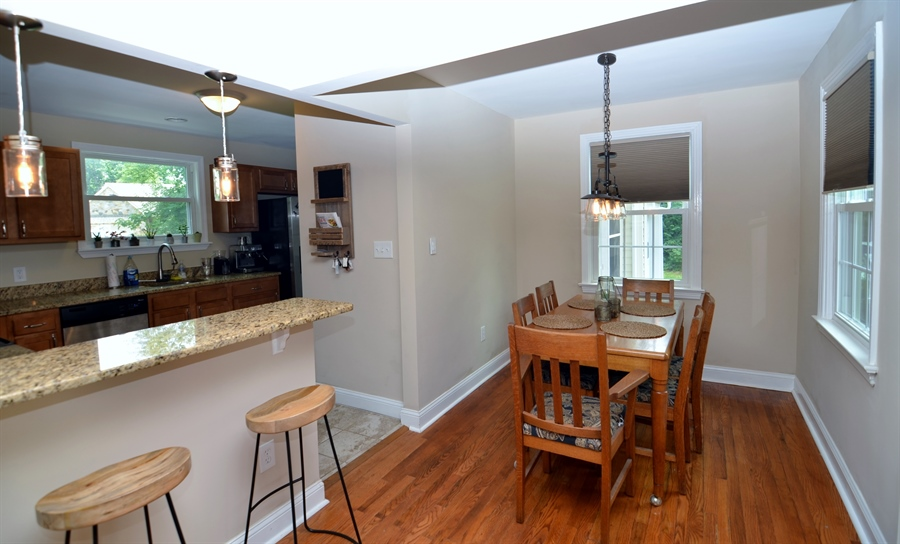 Real Estate Photography - 312 S Dupont Rd, Wilmington, DE, 19805 - Dining Room