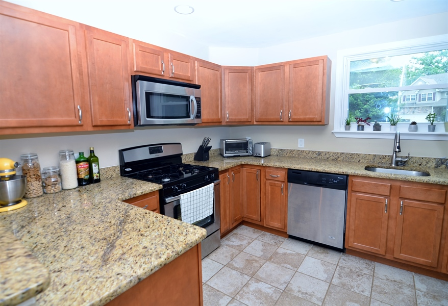Real Estate Photography - 312 S Dupont Rd, Wilmington, DE, 19805 - Updated Kitchen