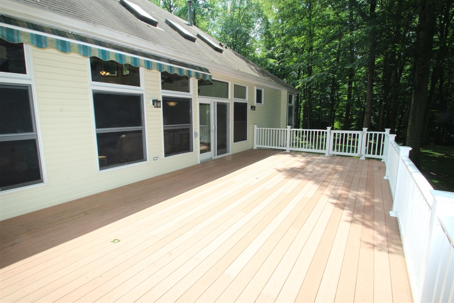 Real Estate Photography - 94 Hunt Valley Loop, Elkton, MD, 21921 - Deck