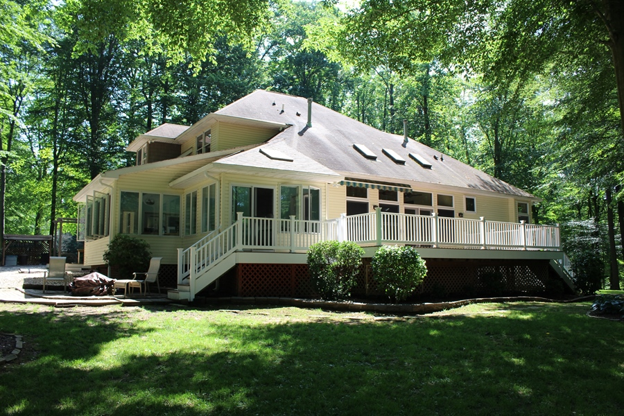 Real Estate Photography - 94 Hunt Valley Loop, Elkton, MD, 21921 - Rear of home