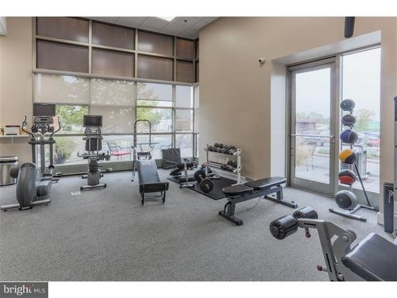 Real Estate Photography - 105 Christina Landing Drive #1308, #1308, Wilmington, DE, 19801 - 1st Floor Fitness Center