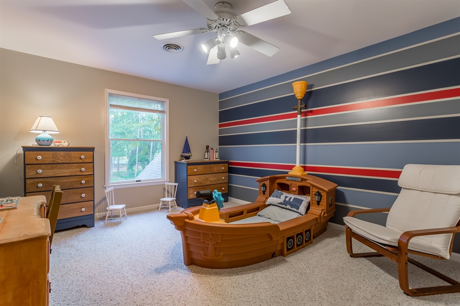 Real Estate Photography - 2 Blue Heron Dr, Georgetown, DE, 19947 - upstairs bedroom