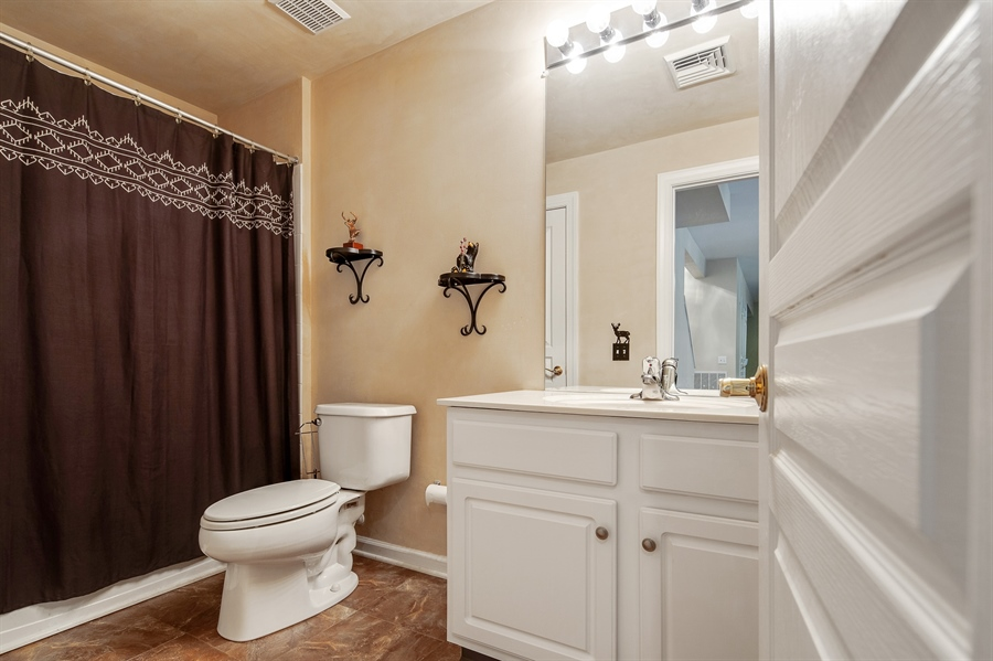 Real Estate Photography - 121 Borden Way, Lincoln University, PA, 19352 - ...and there's a 3rd full bath!