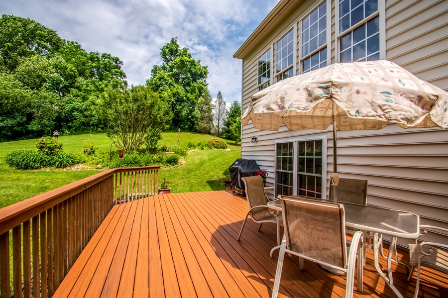 Real Estate Photography - 121 Borden Way, Lincoln University, PA, 19352 - ...while the deck is separate...