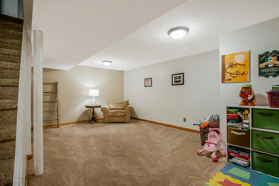Real Estate Photography - 104 E Green Valley Cir, Newark, DE, 19711 - Lots Of Space In The Lower Level
