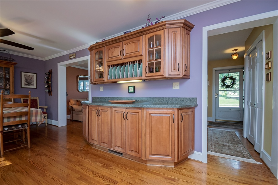 Real Estate Photography - 318 Mitchell Dr, Wilmington, DE, 19808 - Additional counter & cabinet space in kitchen