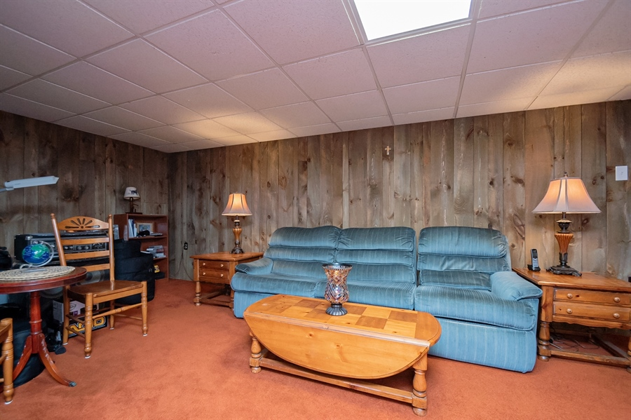 Real Estate Photography - 318 Mitchell Dr, Wilmington, DE, 19808 - 22x22 Rec Room in Lower Level