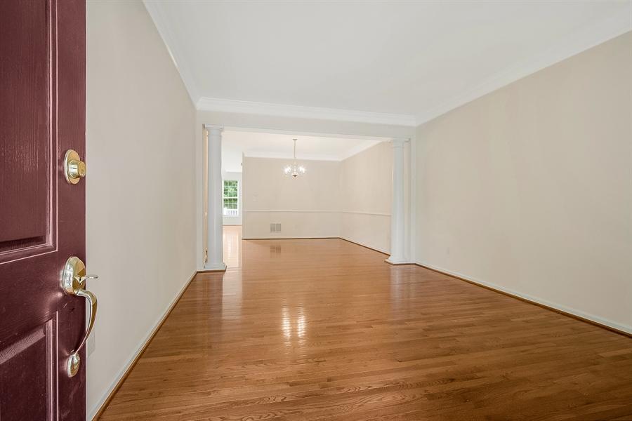 Real Estate Photography - 140 Farm Meadows Ln, Hockessin, DE, 19707 - Living Room with Beautiful Hardwood Floors