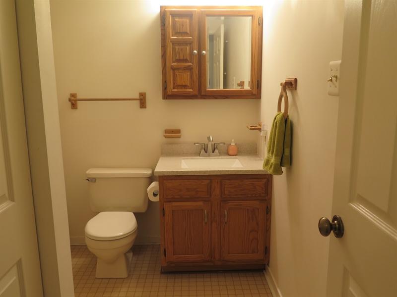 Real Estate Photography - 36  Wheatley Road, Northeast, DE, 21901 - Hall Bath
