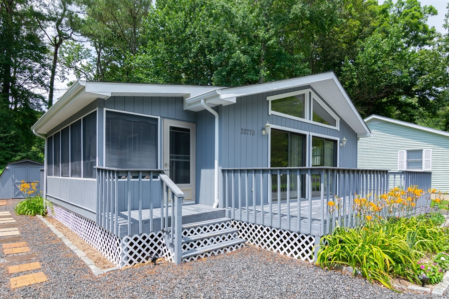 Real Estate Photography - 32775 Bridgeway Dr E, Lewes, DE, 19958 - Plenty of Deck Space