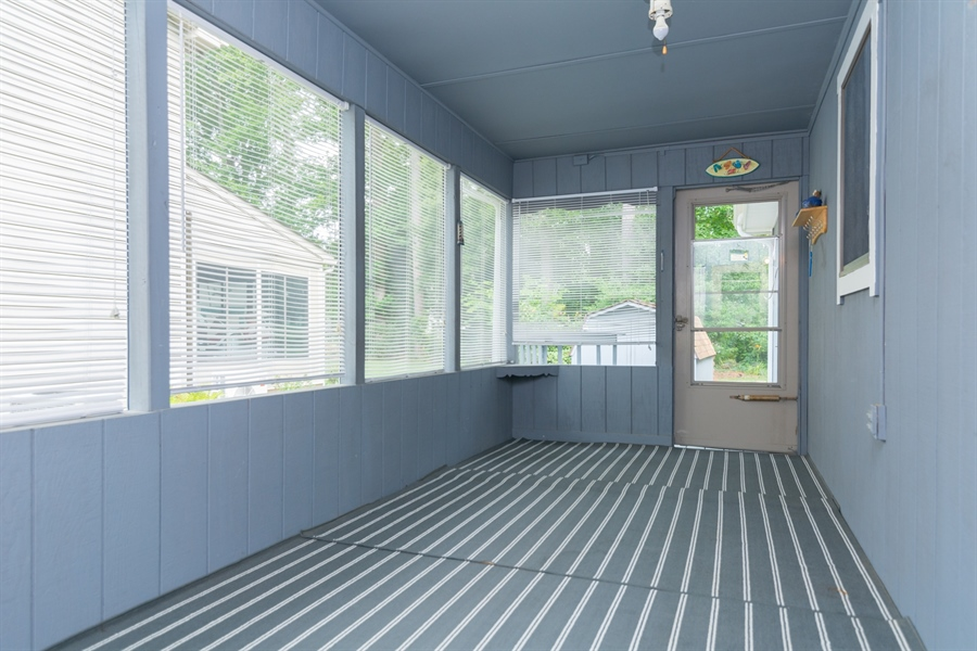 Real Estate Photography - 32775 Bridgeway Dr E, Lewes, DE, 19958 - Lovely Attached Screened Porch