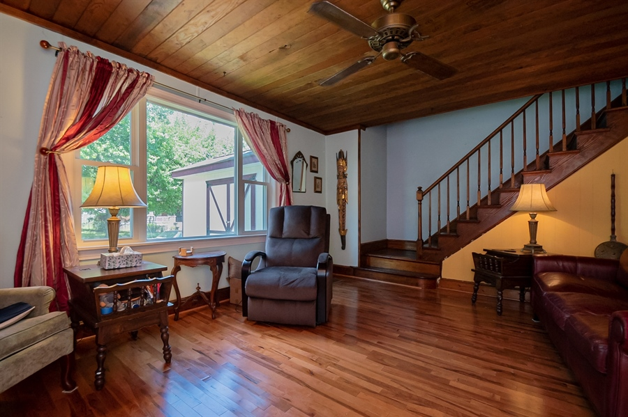 Real Estate Photography - 3112 W Court Ave, Claymont, DE, 19703 - Light filled living room
