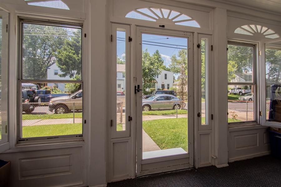 Real Estate Photography - 3112 W Court Ave, Claymont, DE, 19703 - Light filled front porch