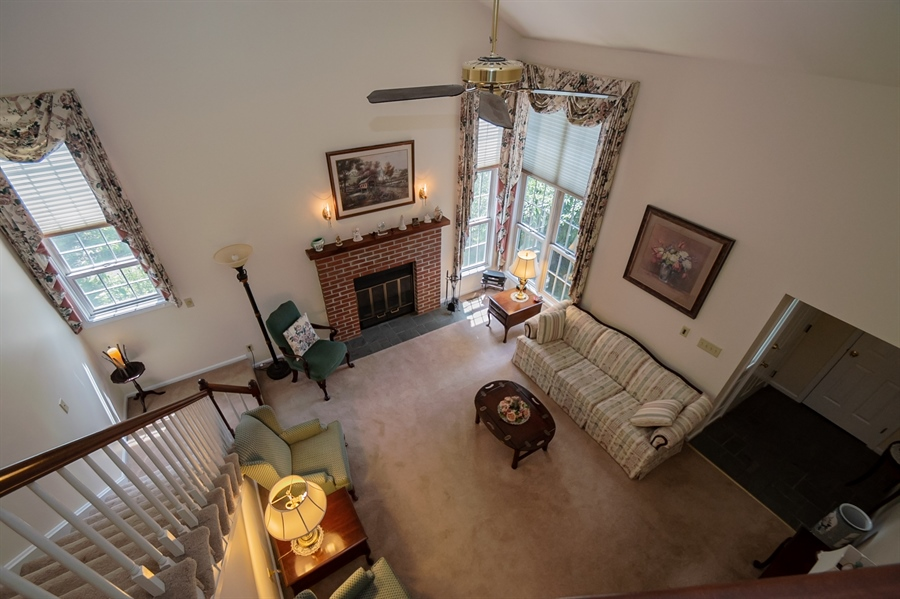 Real Estate Photography - 830 Bess Ln, Wilmington, DE, 19803 - View from 2nd Floor Loft