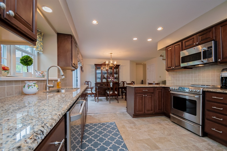Real Estate Photography - 830 Bess Ln, Wilmington, DE, 19803 - Gorgeous Updated Kitchen