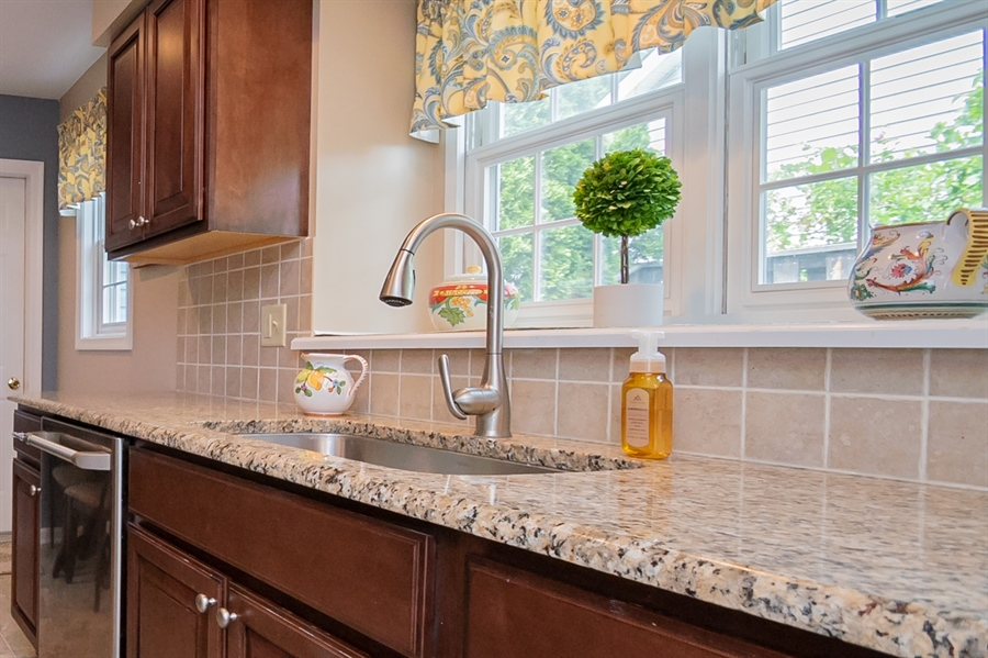 Real Estate Photography - 830 Bess Ln, Wilmington, DE, 19803 - Pretty Window over Sink