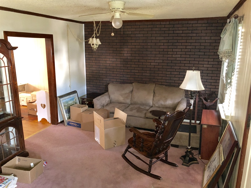 Real Estate Photography - 31 3rd Ave, Claymont, DE, 19703 - Living Room