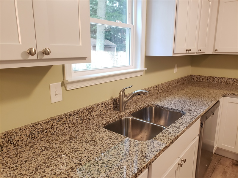 Real Estate Photography - 25 Freedom Dr, Dover, DE, 19904 - Granite Countertops