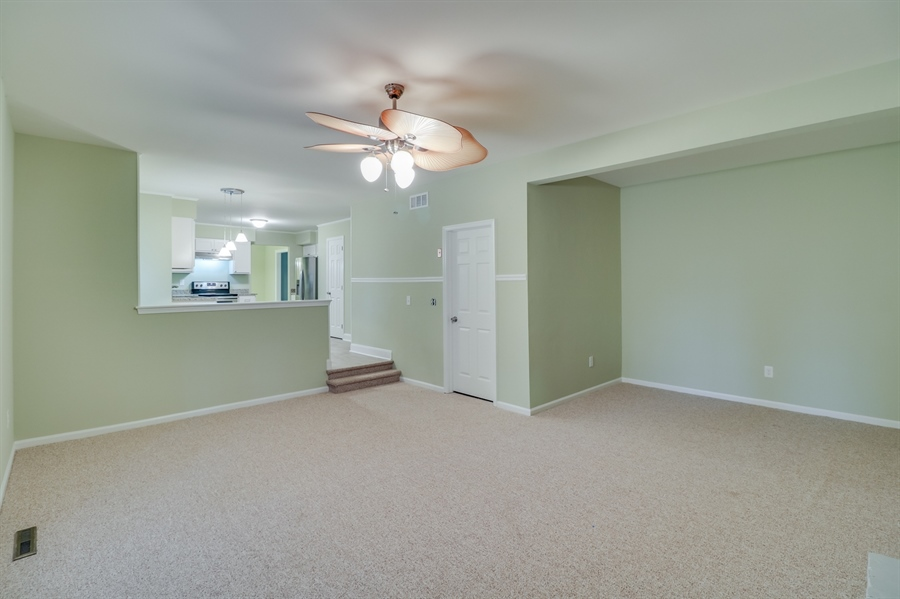 Real Estate Photography - 25 Freedom Dr, Dover, DE, 19904 - Spacious Family Room
