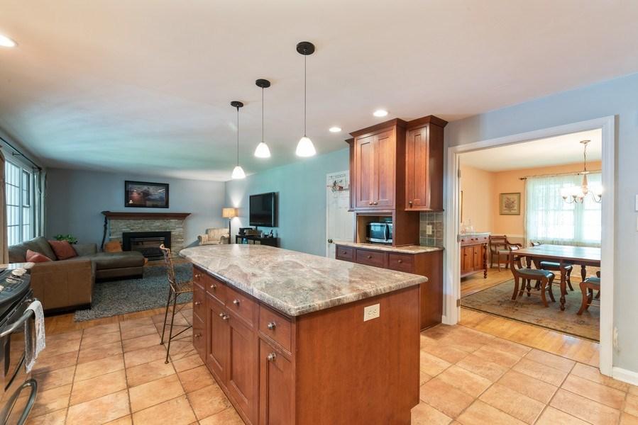 Real Estate Photography - 2513 Pennington Dr, Wilmington, DE, 19810 - Family Room / Kitchen