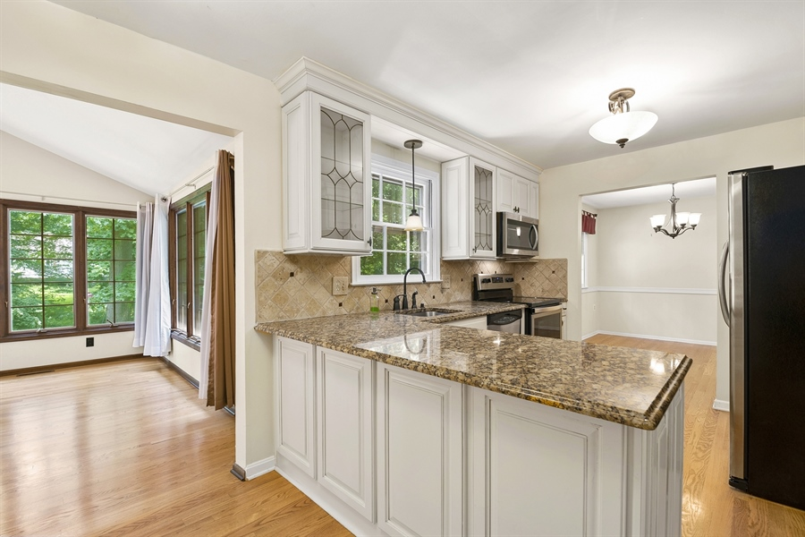 Real Estate Photography - 122 Kirkcaldy Dr, Elkton, MD, 21921 - KITCHEN - to SUNROOM