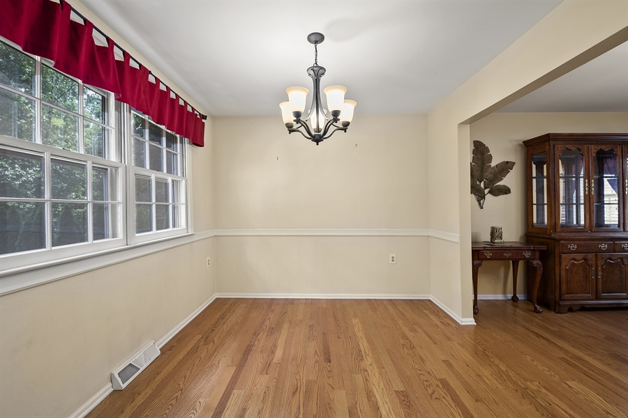 Real Estate Photography - 122 Kirkcaldy Dr, Elkton, MD, 21921 - FAMILY ROOM - Brick Fireplace