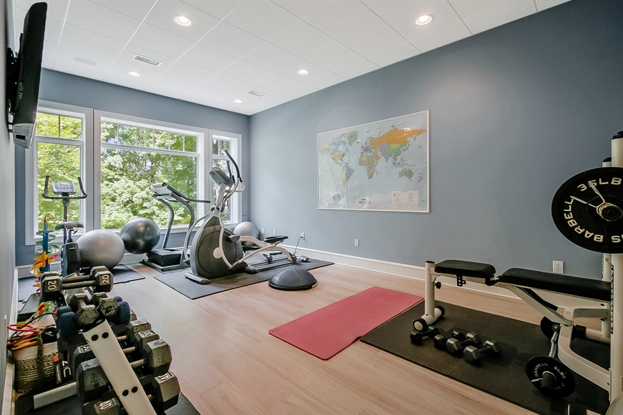 Real Estate Photography - 112 Deer Valley Ln, Greenville, DE, 19807 - Exercise Room