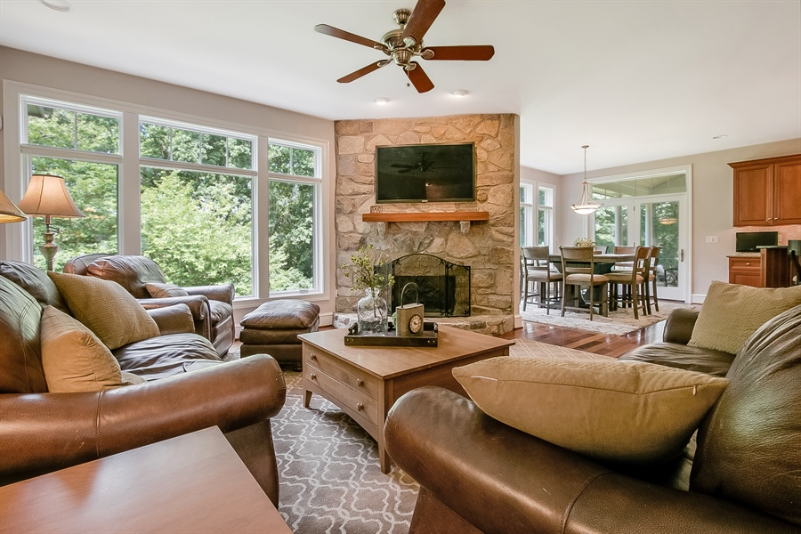 Real Estate Photography - 112 Deer Valley Ln, Greenville, DE, 19807 - Family Room