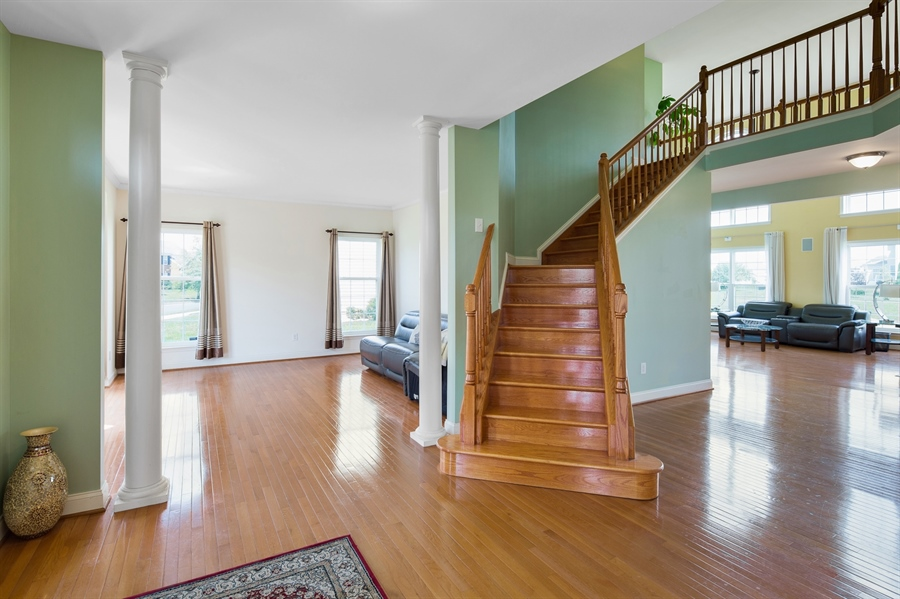 Real Estate Photography - 26 Kirkcaldy Ln, Middletown, DE, 19709 - Spacious family room