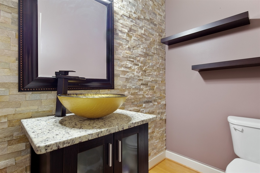 Real Estate Photography - 26 Kirkcaldy Ln, Middletown, DE, 19709 - Updated powder room