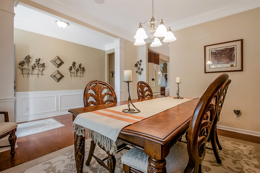 Real Estate Photography - 14 Compass Rose Way, Newark, DE, 19702 - Spacious Dining Room