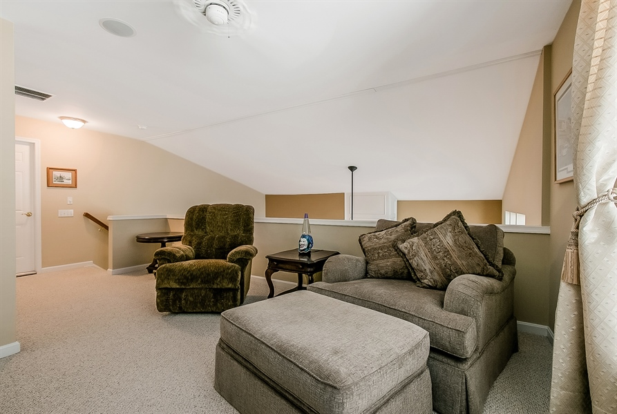 Real Estate Photography - 14 Compass Rose Way, Newark, DE, 19702 - Loft Overlooks Great Room
