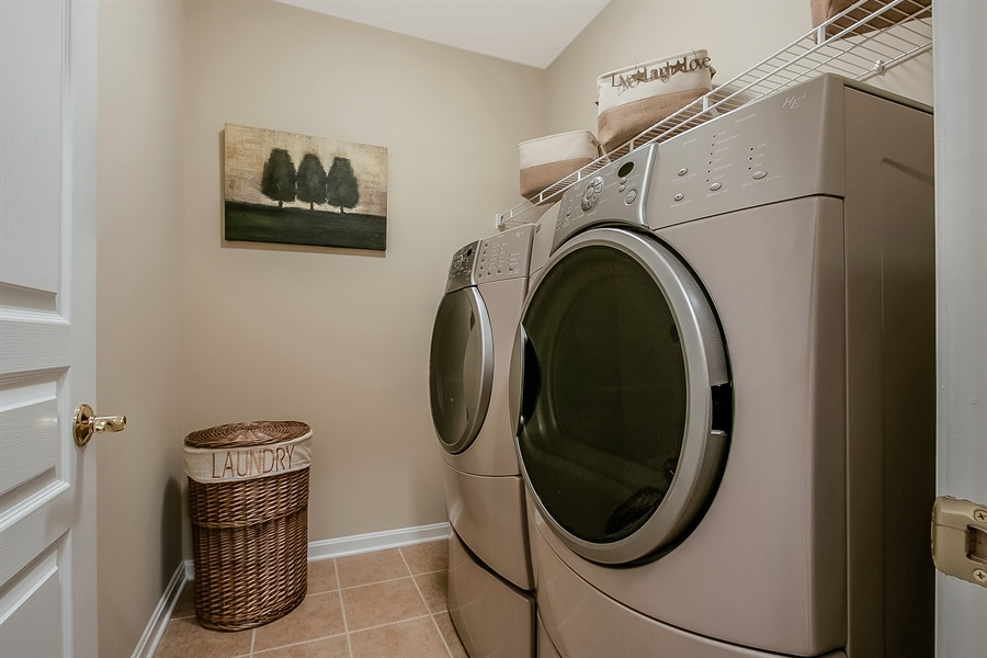 Real Estate Photography - 14 Compass Rose Way, Newark, DE, 19702 - Laundry Room