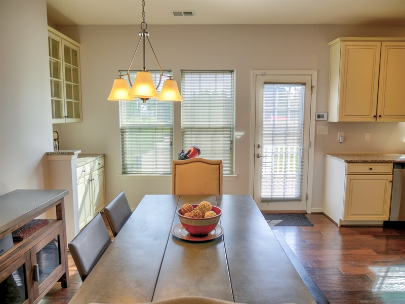 Real Estate Photography - 1320 Madison Lane, Hockessin, DE, 19707 - Butlers Pantry and Perfect Dining Area