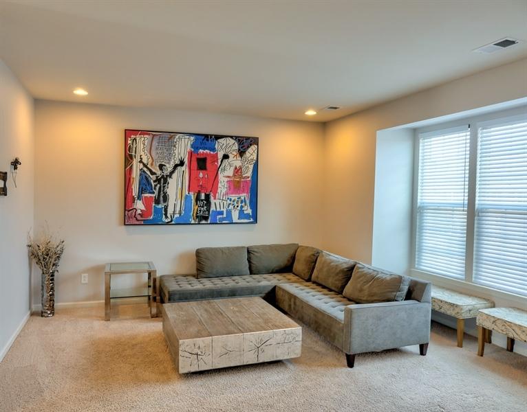 Real Estate Photography - 1320 Madison Lane, Hockessin, DE, 19707 - Expanded Living Room