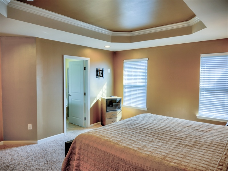 Real Estate Photography - 1320 Madison Lane, Hockessin, DE, 19707 - Large Walk-in Closet and Private Bathroom